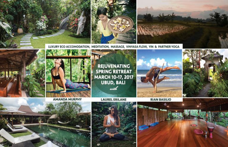 March 10-17 2017 Bali Retreat Poster