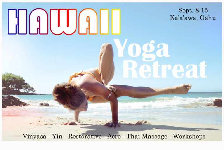 Sept 8-15 Hawaii Yoga Retreat Poster