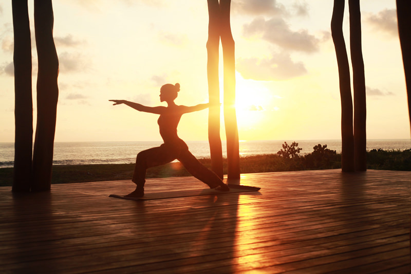 Yoga at Playa Viva Resort